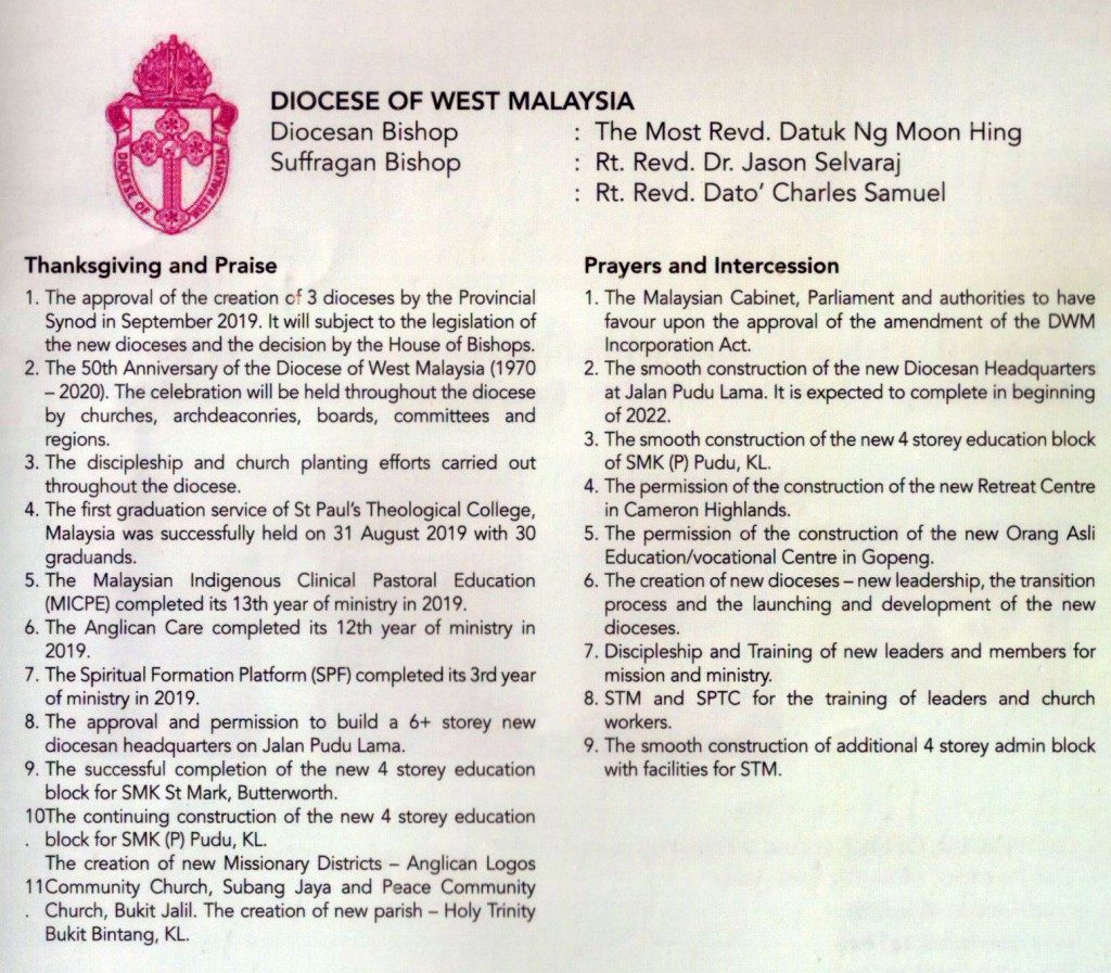 Diocese of WM