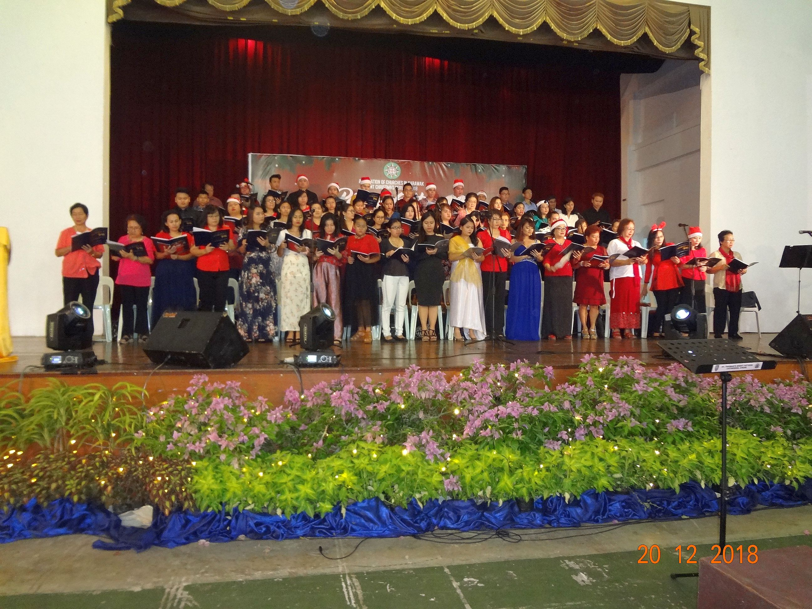 Association of Churches In Sarawak Joint Christmas Service 2018